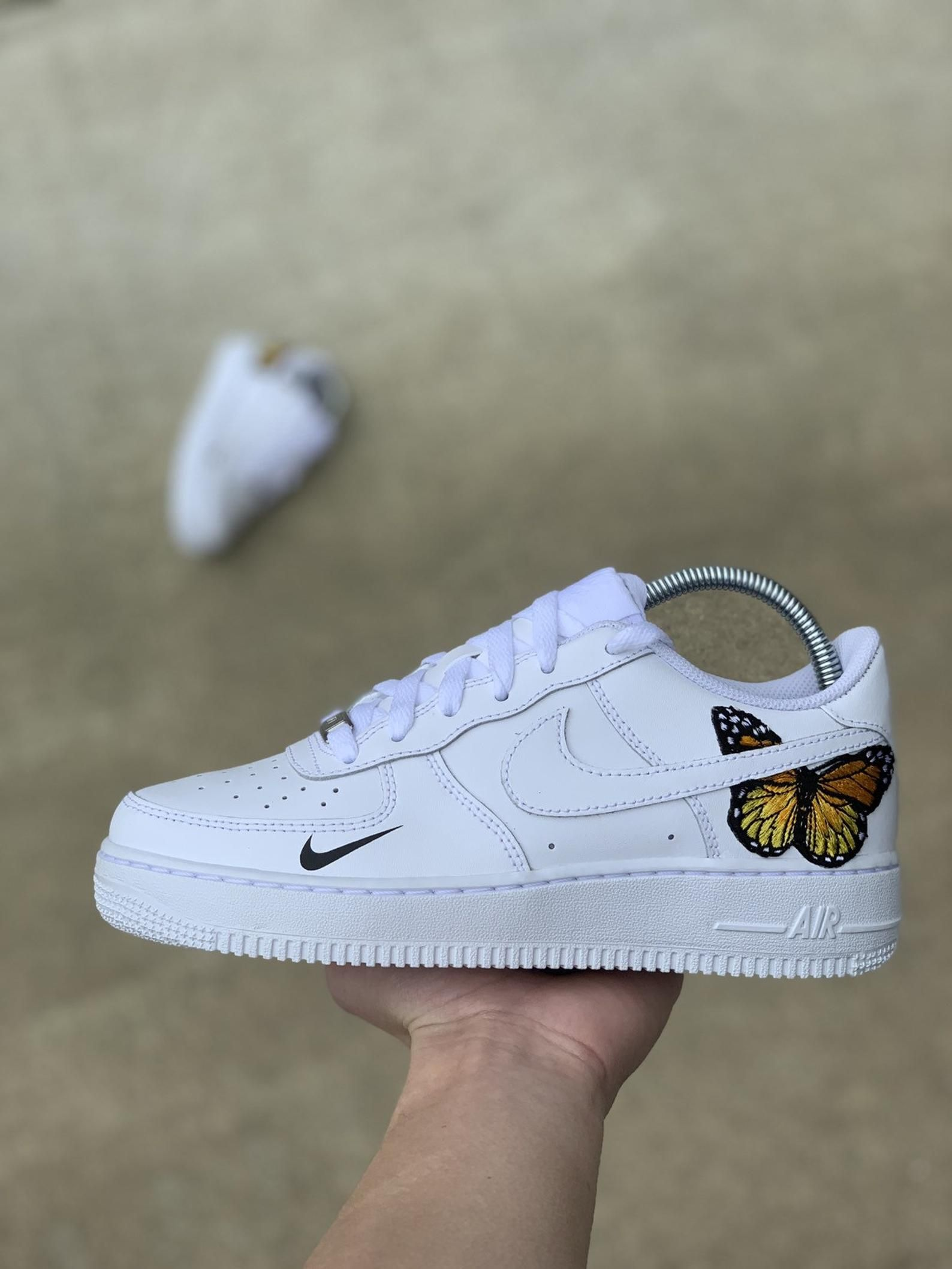 Custom Air Force 1 // Butterfly Air Force 1 Etsy