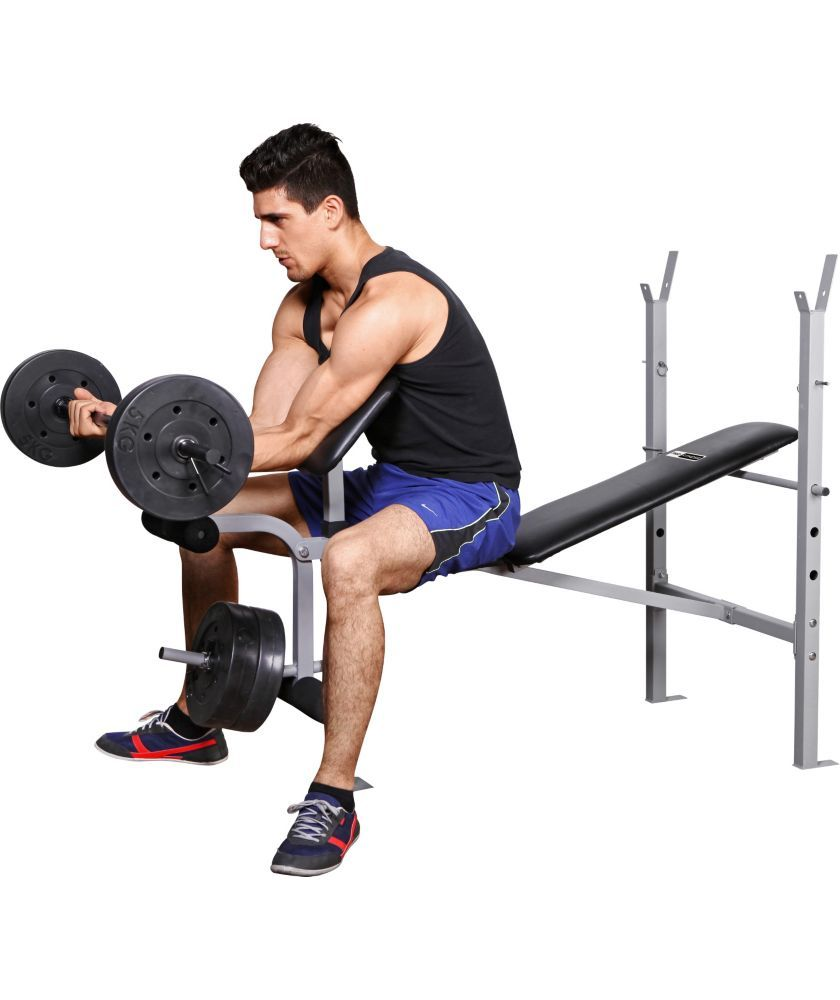Buy Pro Fitness Exercise Bench With 30kg Weights At Argos Perfect