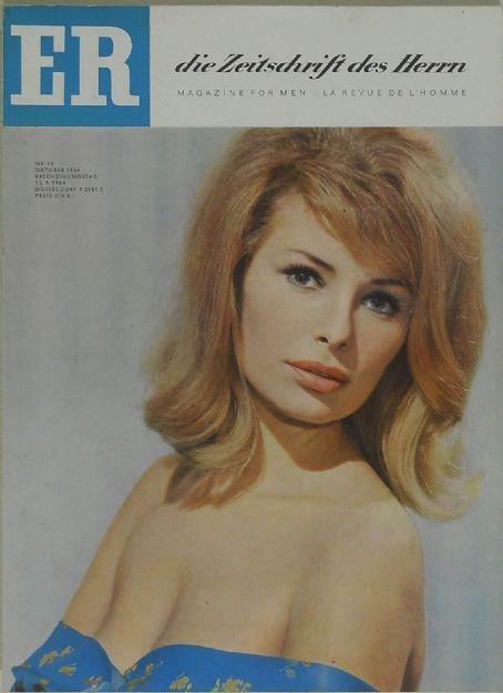 Er Magazine West Germany September 1964 Vivi Bach