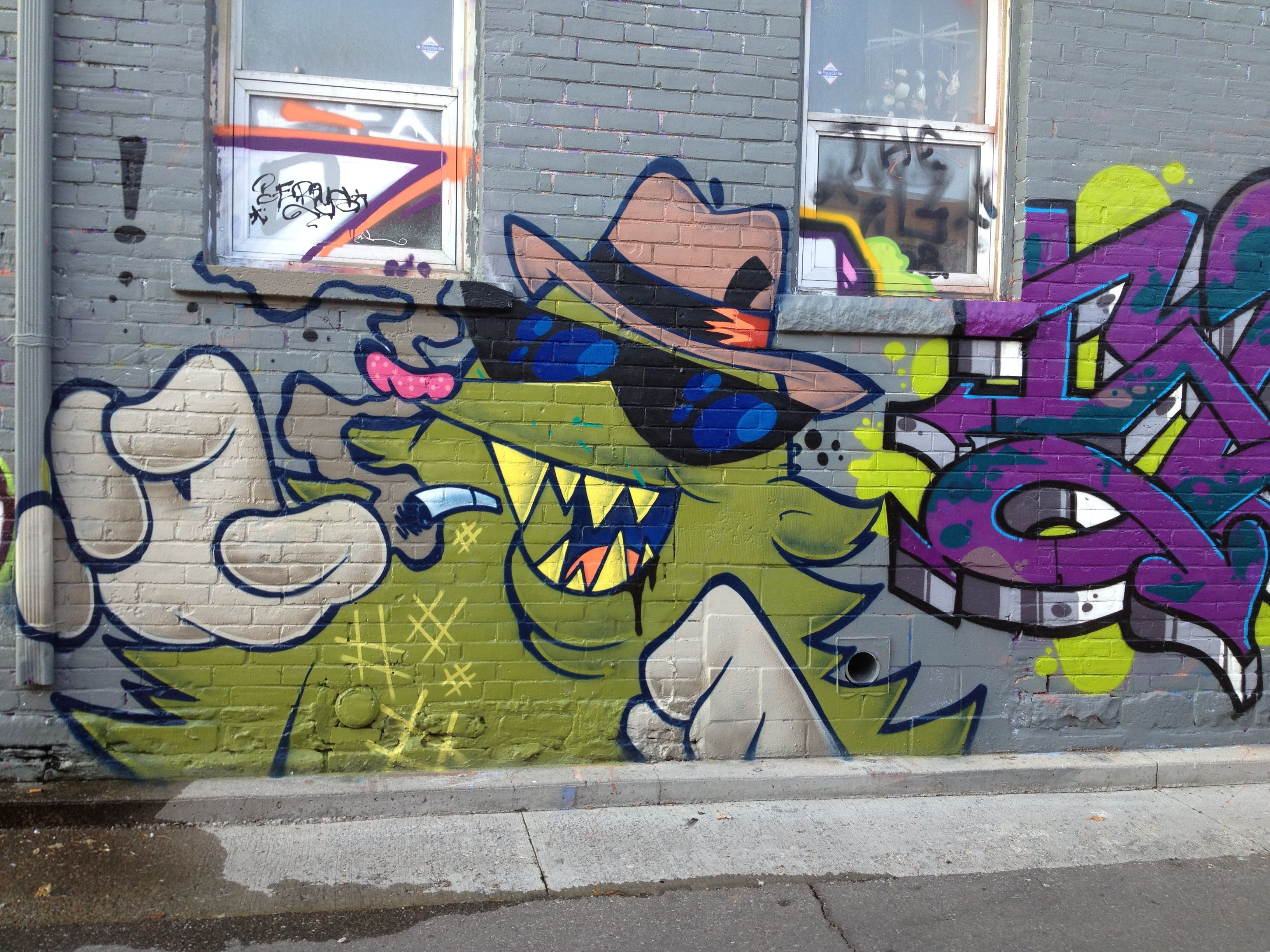 Toronto fashion district street art pinterest more street art