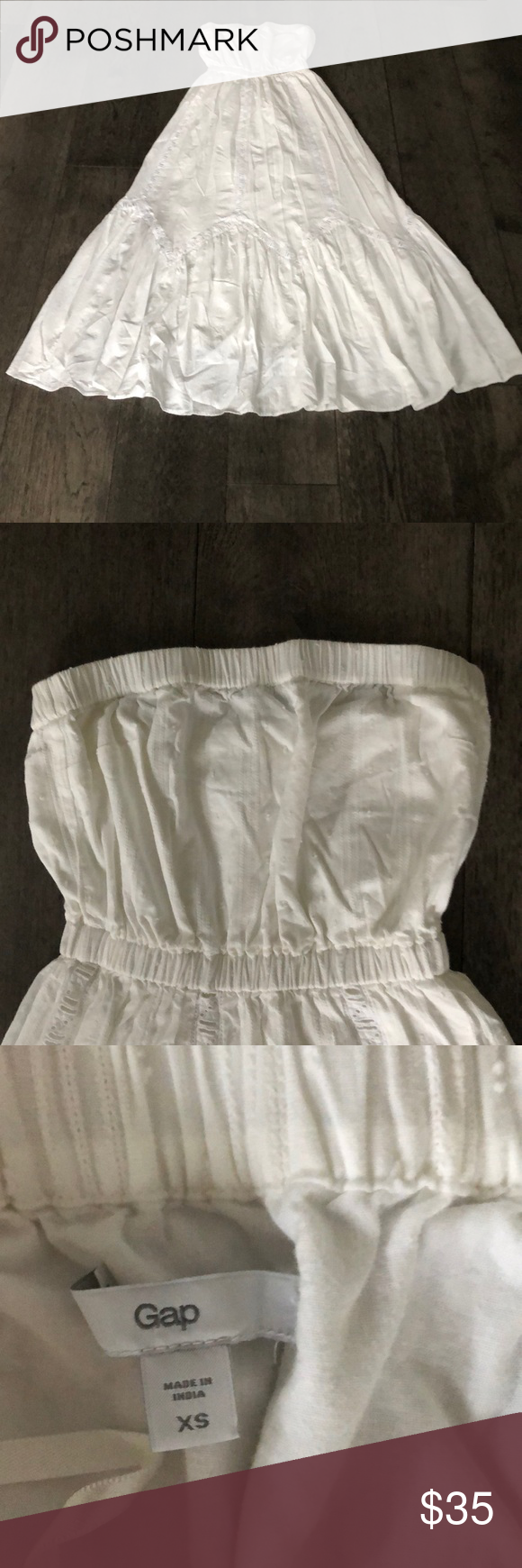 Gap 100 Cotton White Maxi Dress White Maxi White Maxi Dresses Maxi Dress [ 1740 x 580 Pixel ]