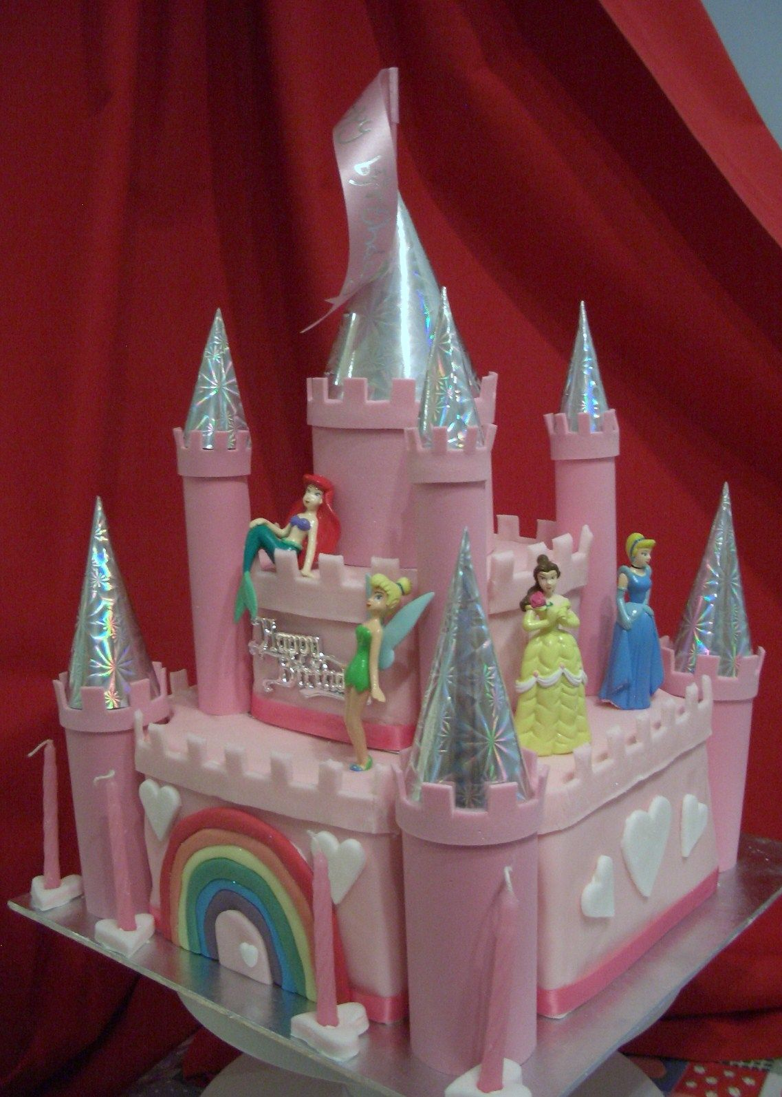 castles+cake | disney princess castle cake | cakes, cookies and