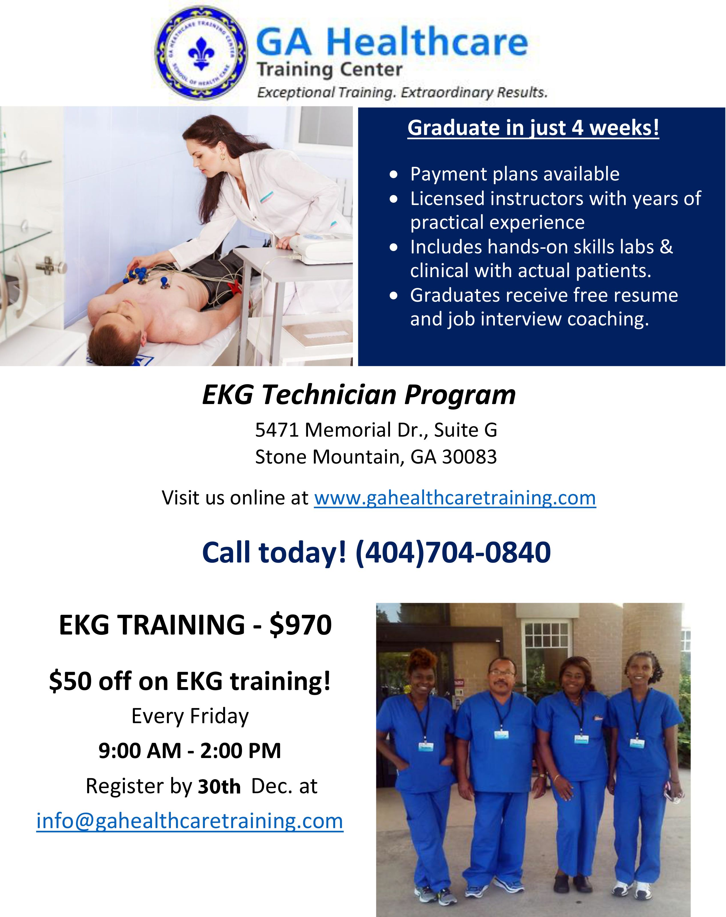 Ga Healthcare Training Center Gahealthcare Pinterest Health