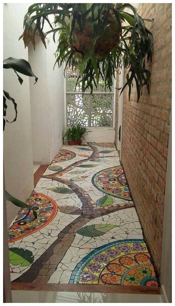 56 fabelhafte Gartenideen 10 #sideyards