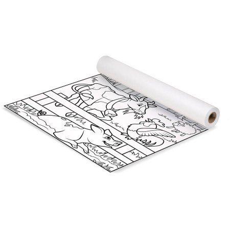 Melissa Doug Animal Habitats Easel Paper Roll 18 Inches X