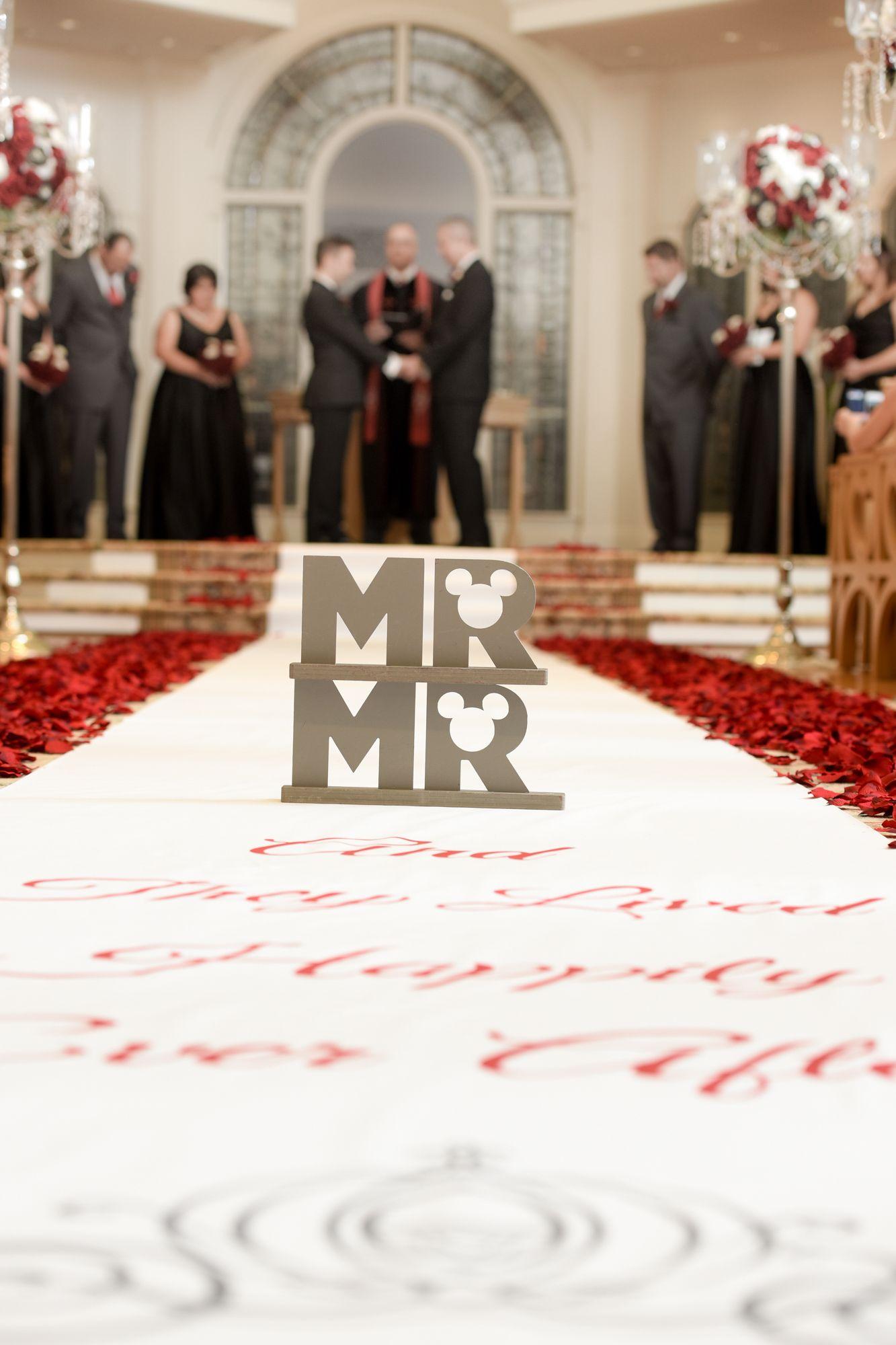 A beautiful ceremony at Disney\u0027s Wedding Pavilion for Walt Disney World  lovebirds Shannon and Ralph