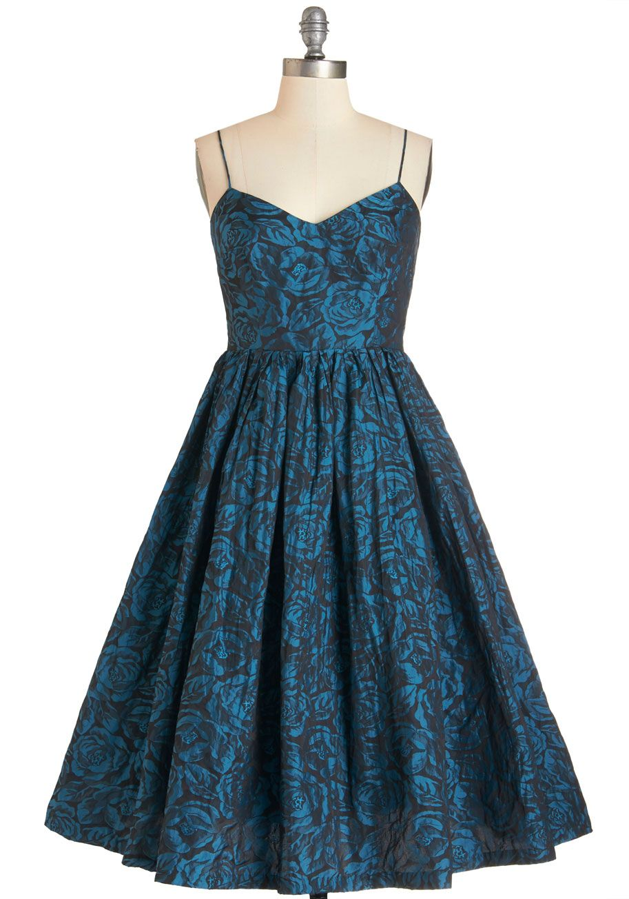 Tracy reese true blue elegance dress the straps are practically