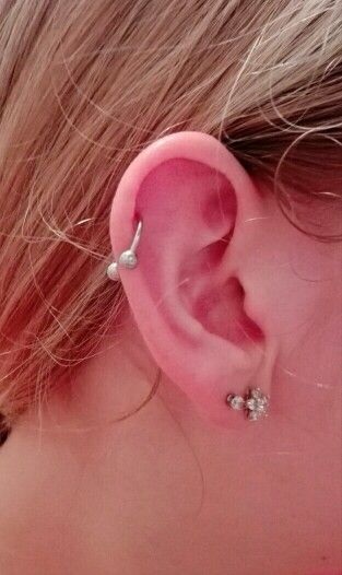 Got a circular barbell in my helix now,  I like it very much!
