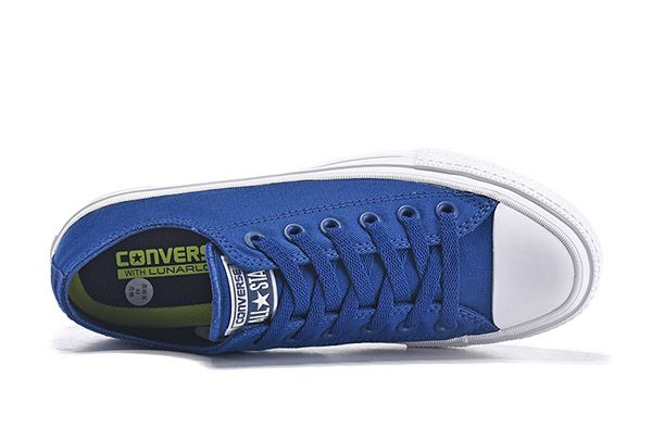 65bc2151a33a83 Classic Converse Chuck Taylor All Star II Sodalite Blue Low Canvas  converse   shoes