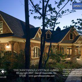 Nantahala Cottage Gable House Plan
