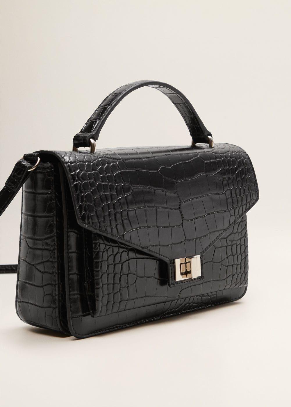 e767910a54b Cross-body croc-effect bag - Women in 2019   Wish List   Bags ...