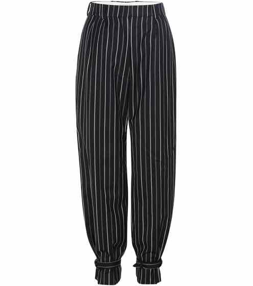 Striped wool trousers | Hillier Bartley