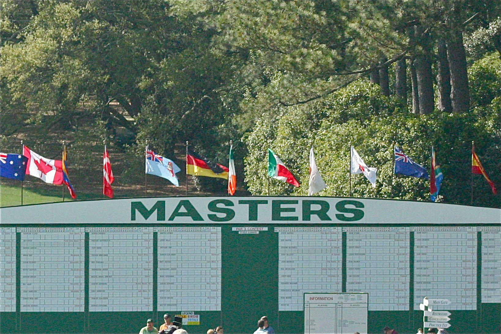 The Masters Golf Tournament Augusta, GA (2010 Practice
