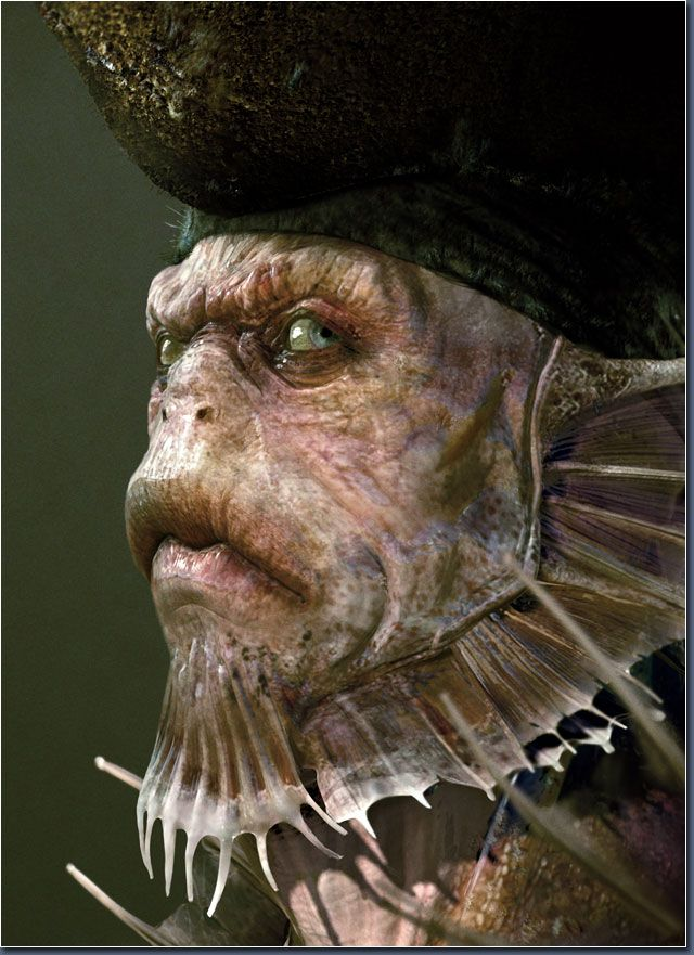 Davy Jones Pirates Caribbean