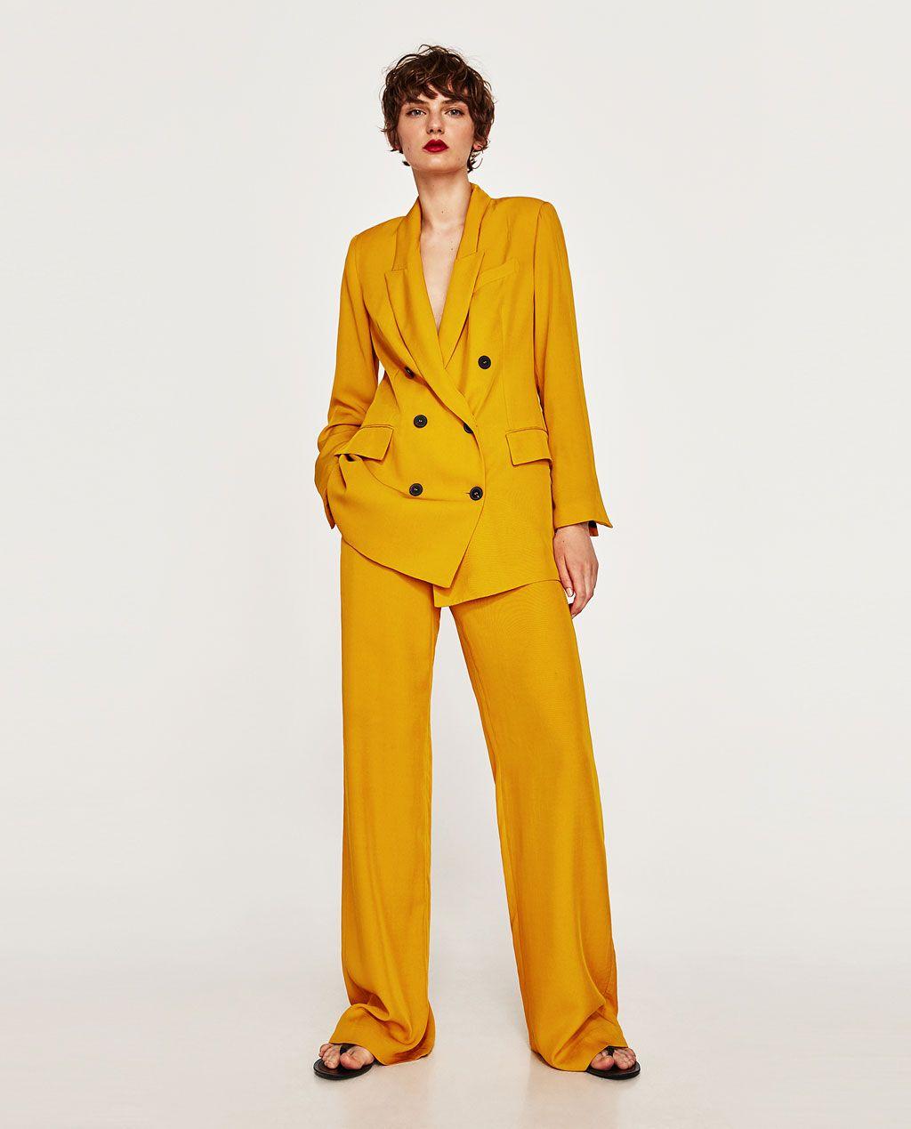 f97b07e9 DOUBLE BREASTED JACKET-BLAZERS-WOMAN | ZARA Italy | Fashion ...