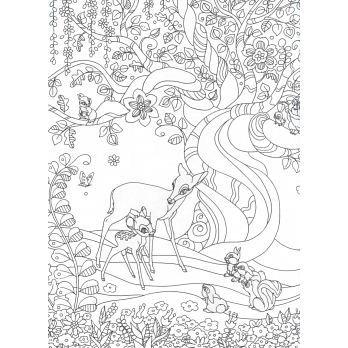 迪士尼角色可愛主題圖案著色繪圖集 | Sketches. Art. Color