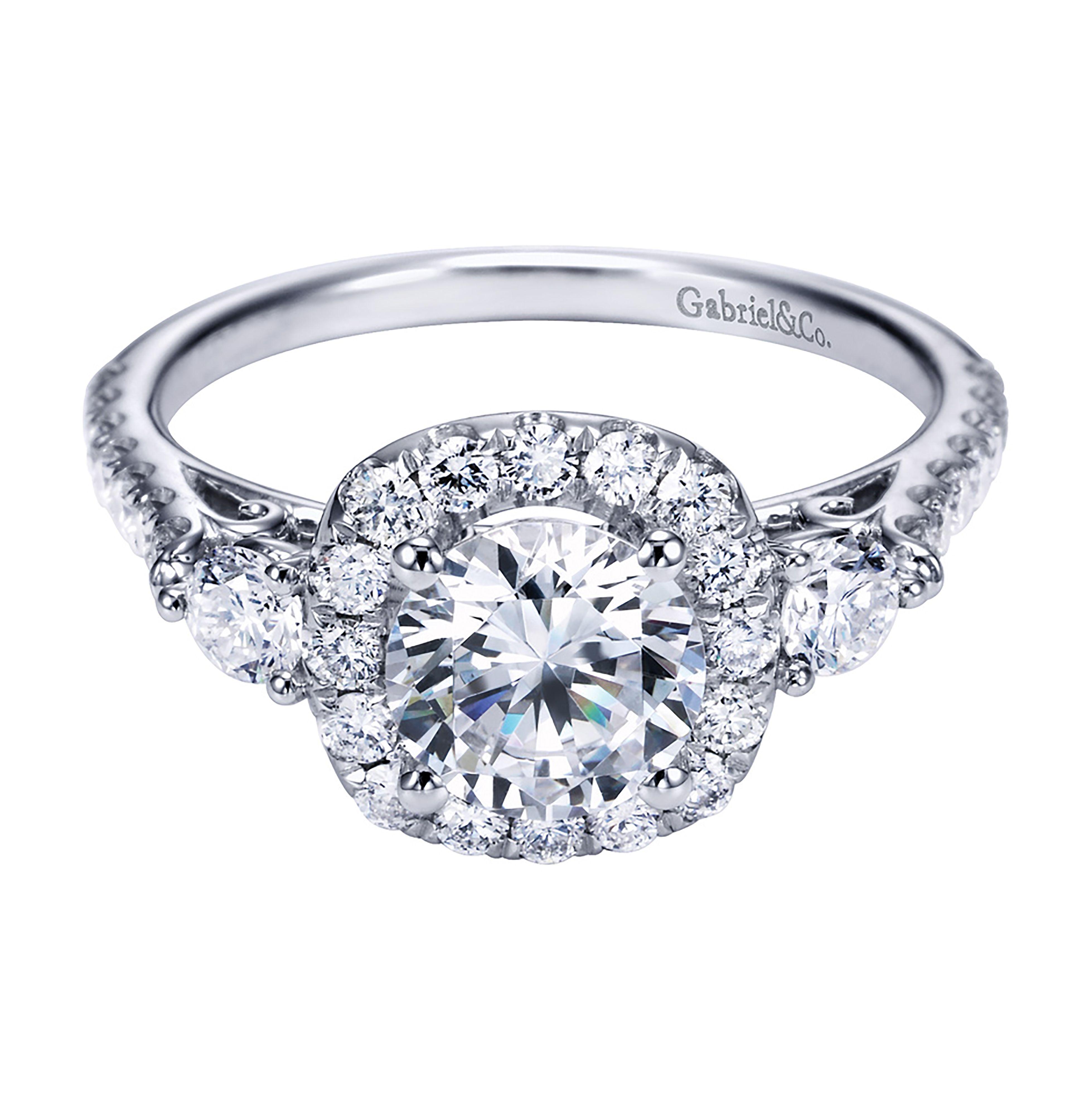 Gabriel Diamond Engagement Ring At Carreras Jewelers Richmond Va