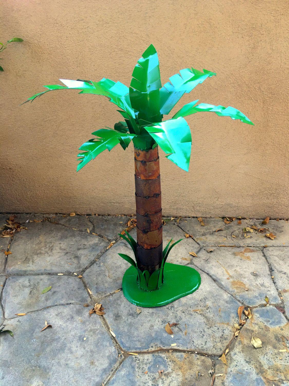 Cabo Palm,Metal Sculpture,metal art,garden,garden decor,rustic decor ...