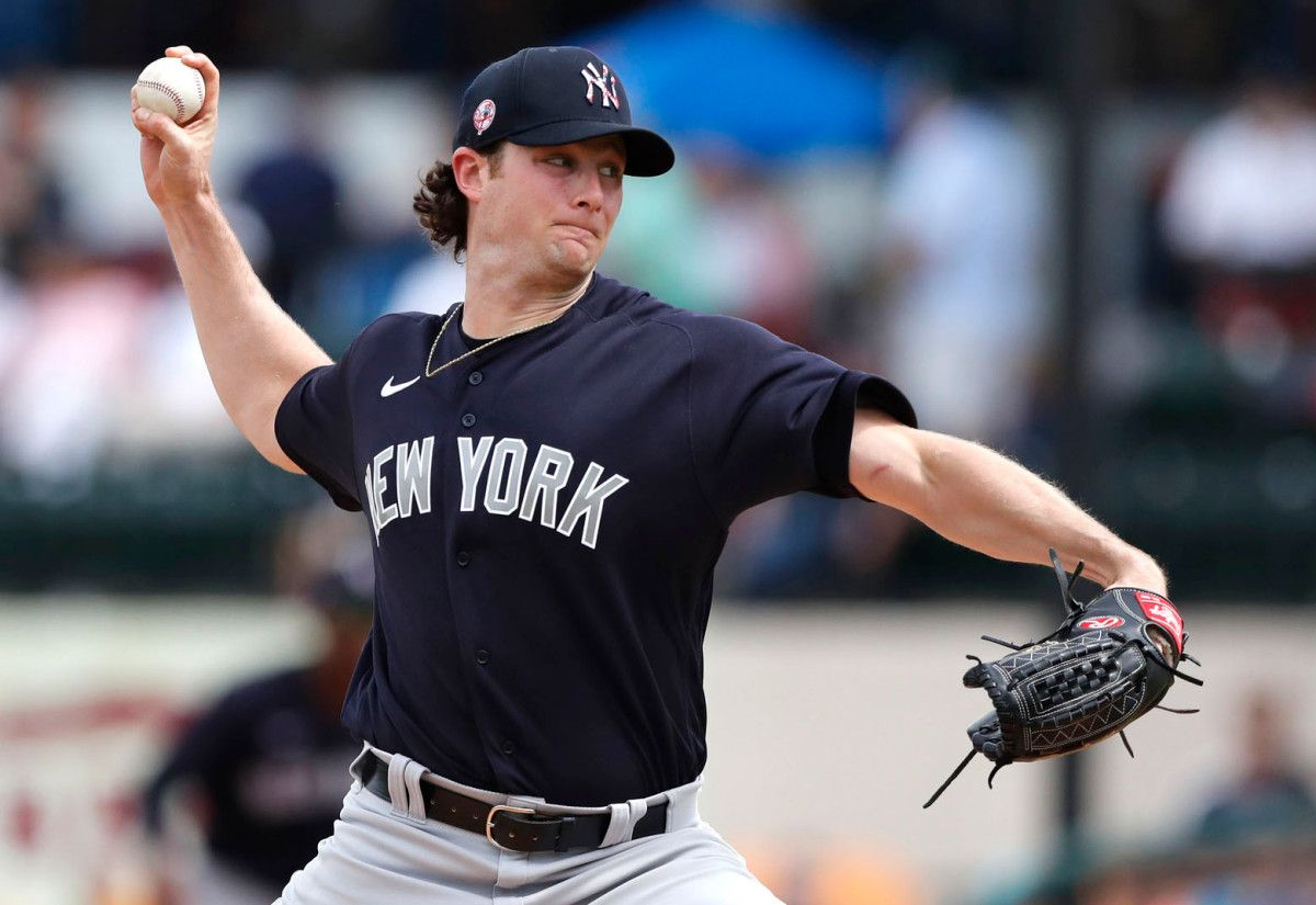 Gerrit Cole Becoming Yankees High Priced Stress Reliever Https Bbccnnlife Com 2020 03 11 Gerrit Cole Becoming Yankees High In 2020 Yankees How To Relieve Stress Mlb