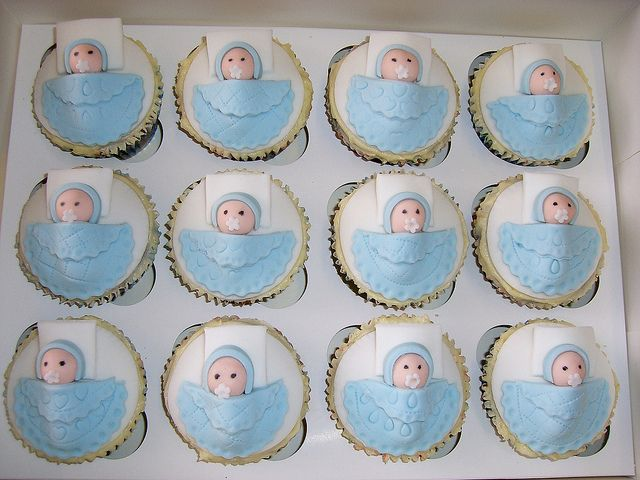Baby Boy Cupcakes Baby Shower Cupcakes Decorations Baby Shower
