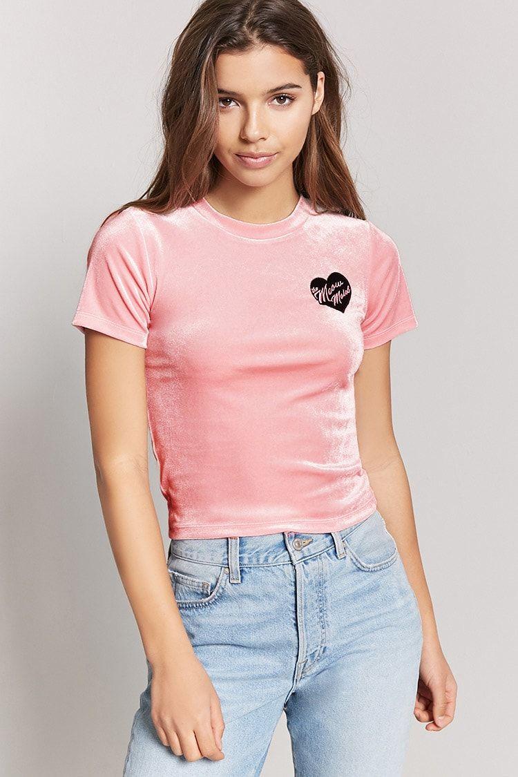 Velvet teen t shirts