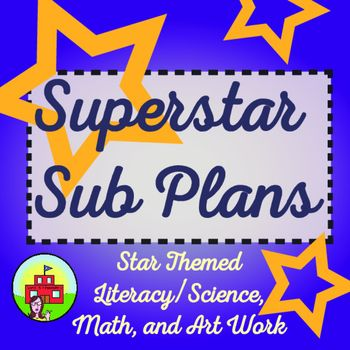 Rest up after printing this star themed science, literacy, math, and art bundle! This packet will cover one full day of learning. Students will read a star themed passage, and complete follow up work on vocabulary, fact and opinion, main idea and details, and synonyms and antonyms. Homework included!