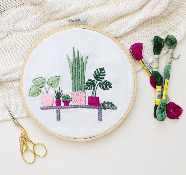 75 Modern Embroidery Kits For Beginners Modern Embroidery