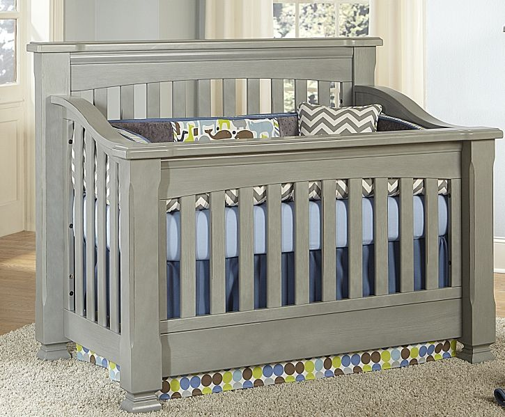 Delightful Babyu0027s Dream Spice Convertible Crib, Vintage Grey