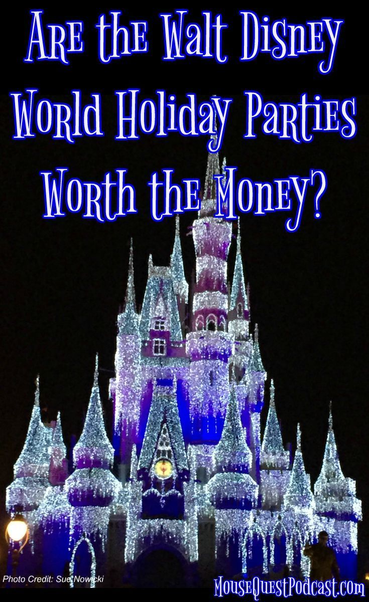Why the Walt Disney World Holiday Parties are Worth the Money ...