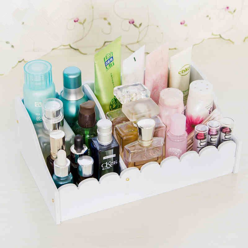 Woman Cosmetic Organizer Clear Makeup Jewelry Cosmetic Storage