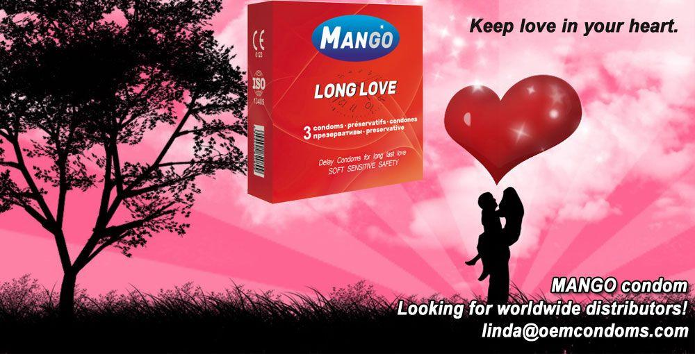 MANGO Long Love condom last as long as possible Email: linda