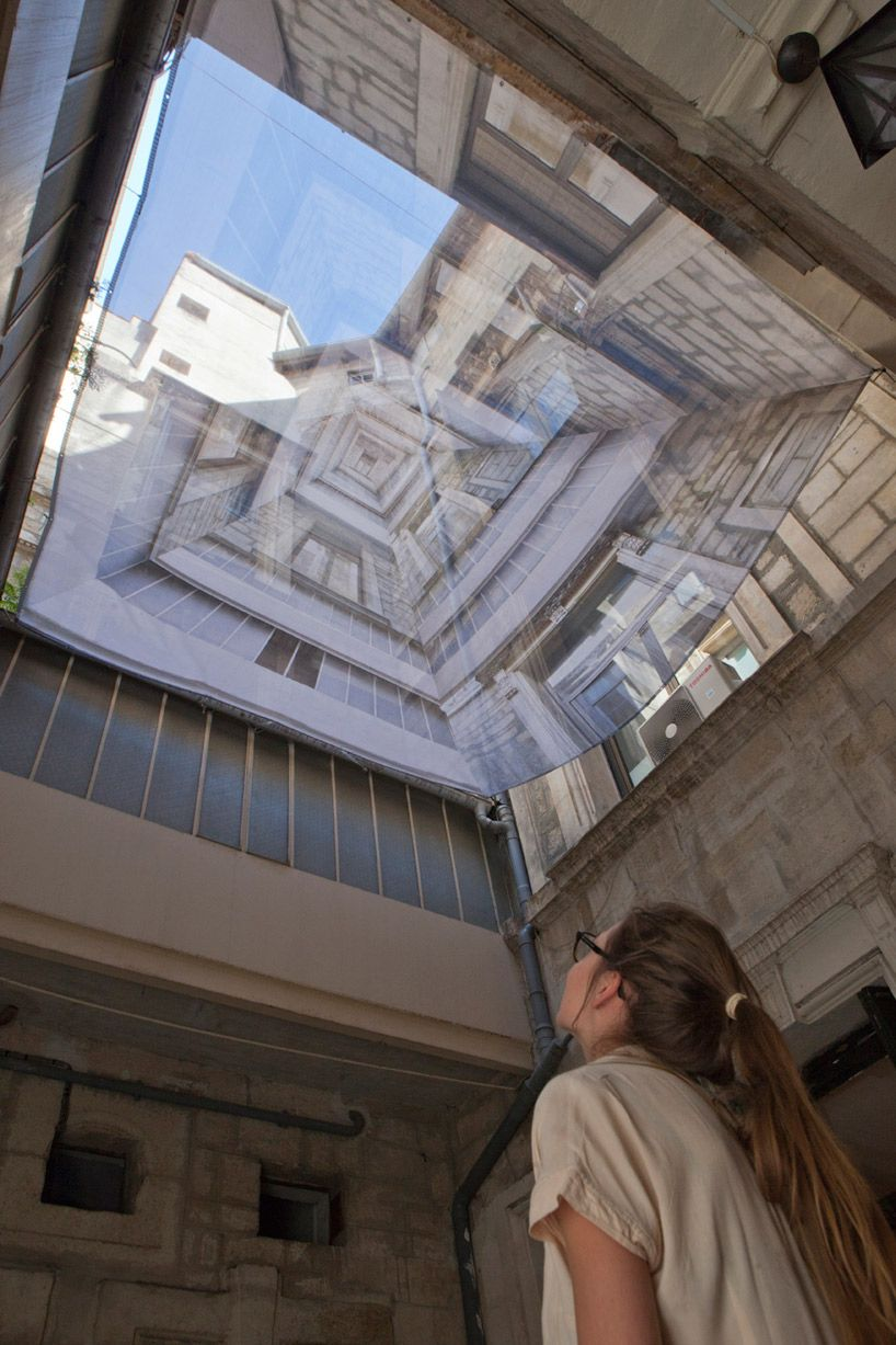 2012 lively architecture festival in montpellier  exposure strategies  cables + textile