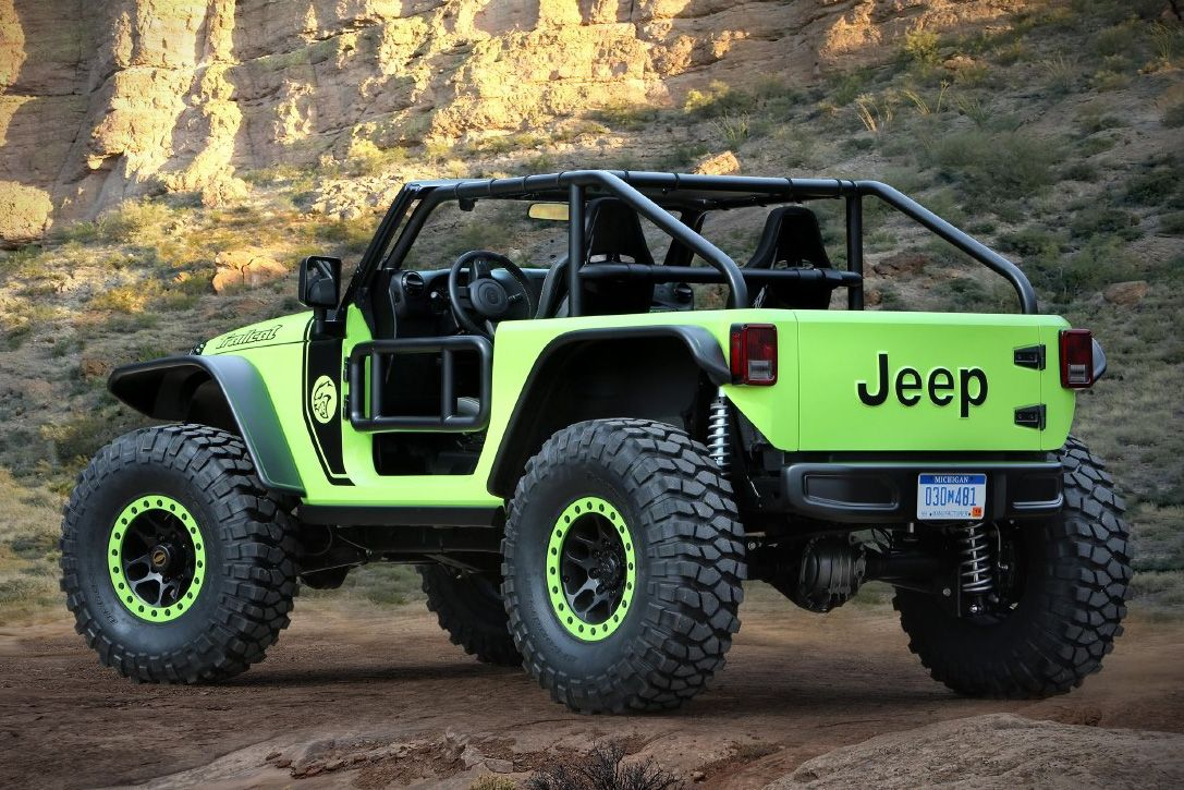 2017 Jeep Concept Vehicles >> 2017 Jeep Wrangler Trailcat Concept 002 Cars Bikes I Love