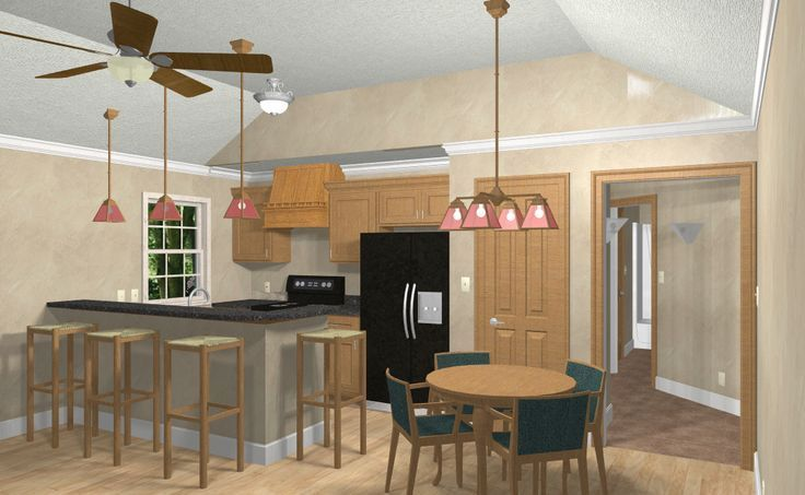 Erschwingliche Custom House Tiny Home Blaupausen Pläne 1 Schlafzimmer Cottage 6   Anbau Satteldachhaus