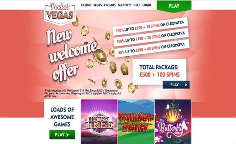 Mobile Casino Games Made Accessible on Pocket Vegas Casino