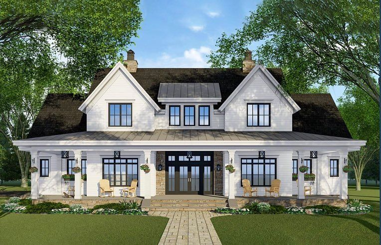 Have you see adhouseplans newest Modern Farmhouse plan