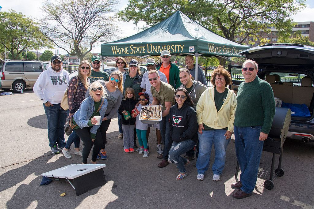 Photo of the day for sept 19 2015 warrior tailgating
