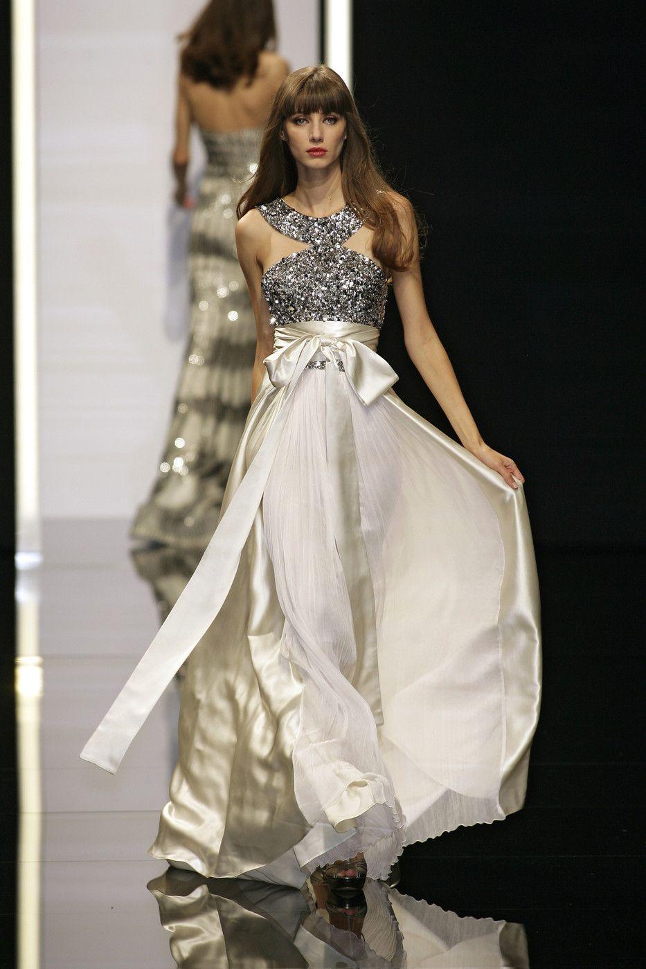 Stunning tie waist gown saved fashion pinterest elie saab