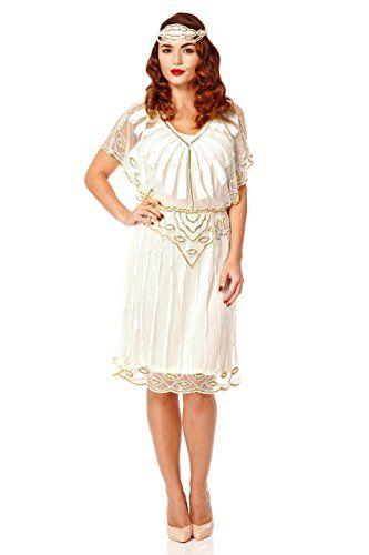 Fashion Plus Size Dresses Angel Sleeve 1920s Vintage Inspired