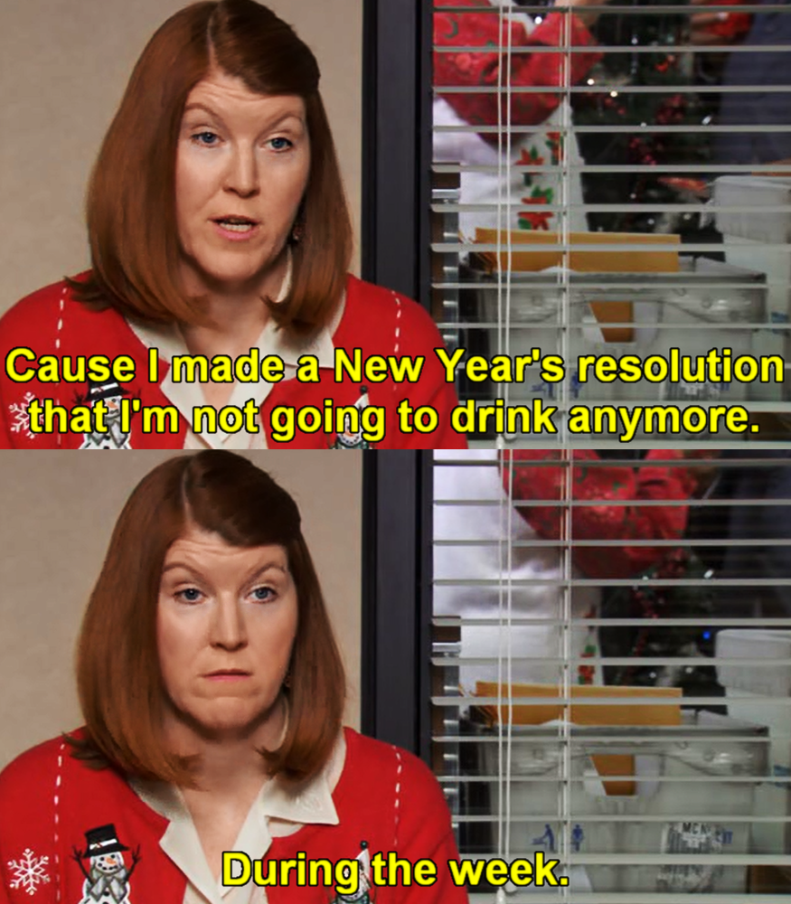 Meredith Palmer The Office Meredith Palmer New Years Resolution The Office