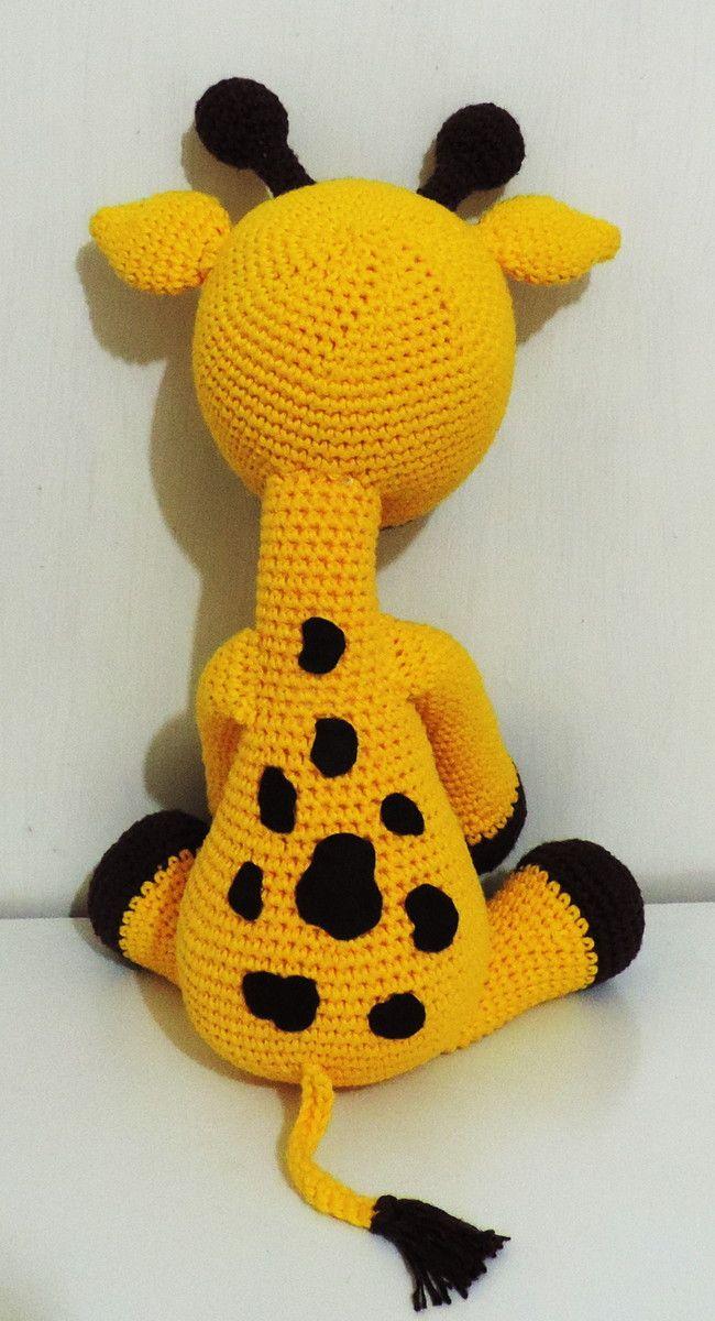 Amigurumi Girafa Gigi Big Com Imagens Amigurumi De Croche