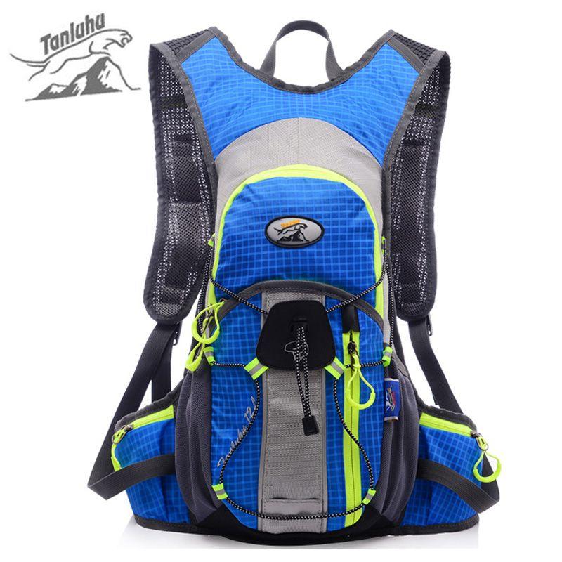 1525551567 TANLUHU 15L Outdoor Reflective Backpack for Bicycle Women Men Waterproof  Nylon Mountain Bike Sports Climbing Rucksack