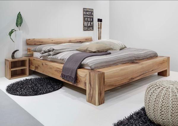 Bauanleitung BalkenBett  Bedrooms Woodwork And Woods