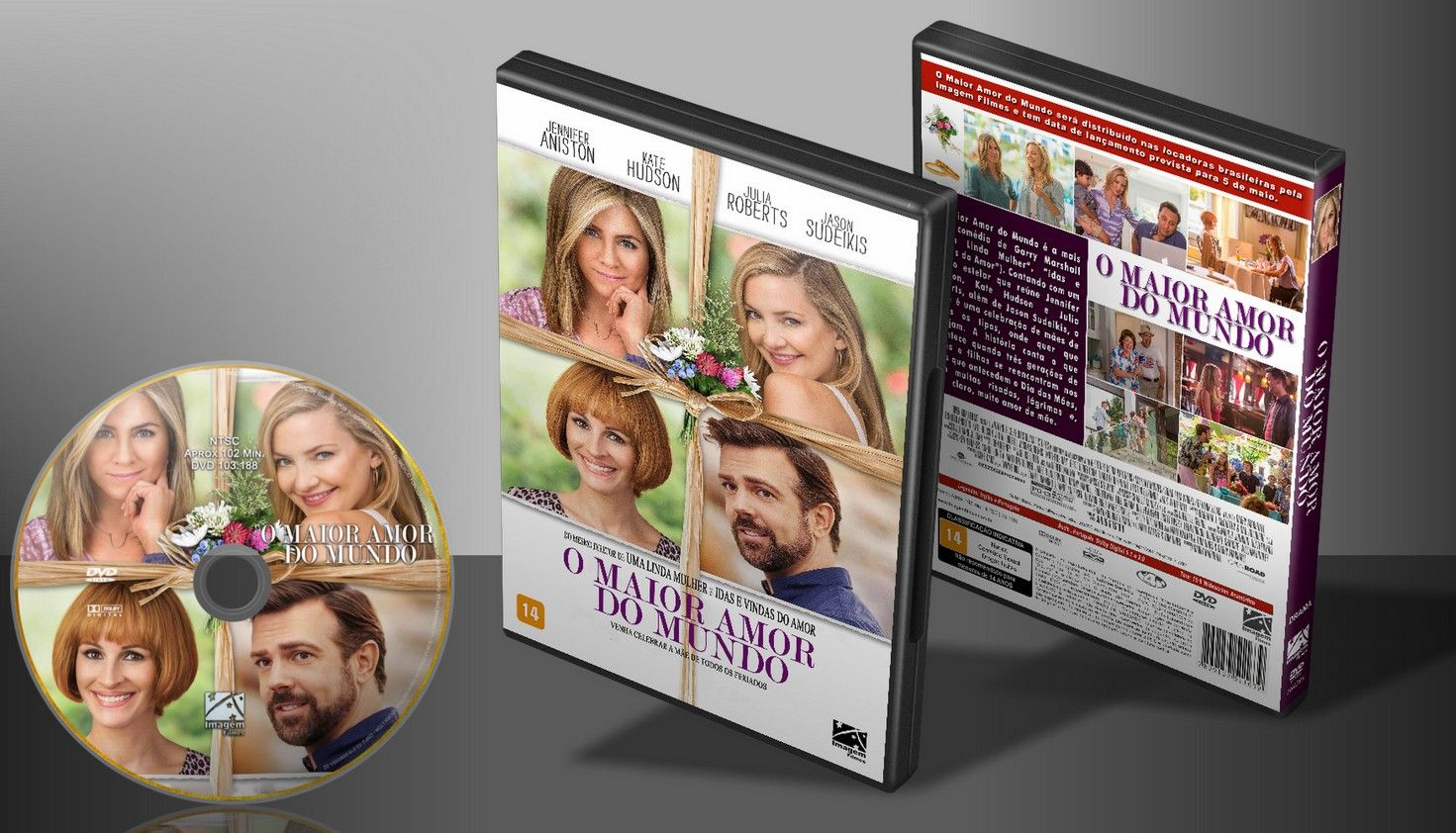 O Maior Amor Do Mundo - Capa | VITRINE - Galeria De Capas - Designer Covers Custom | Capas & Labels Customizados