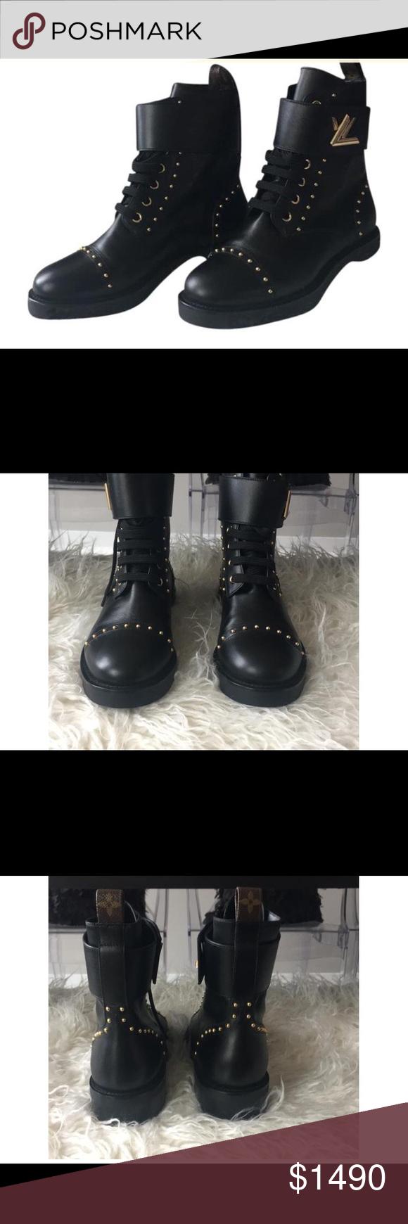 23de95f6fe1 Louis Vuitton Rockabilly Ranger Boots Brand new never worn. Includes ...