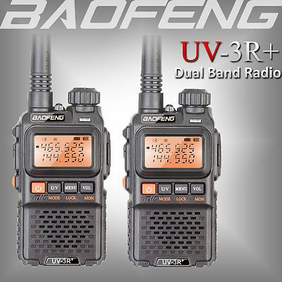 BAOFENG UV-5R Two Way Ham Radio Dual Band 136-174//400-520Mhz 5W Walkie Talkie US