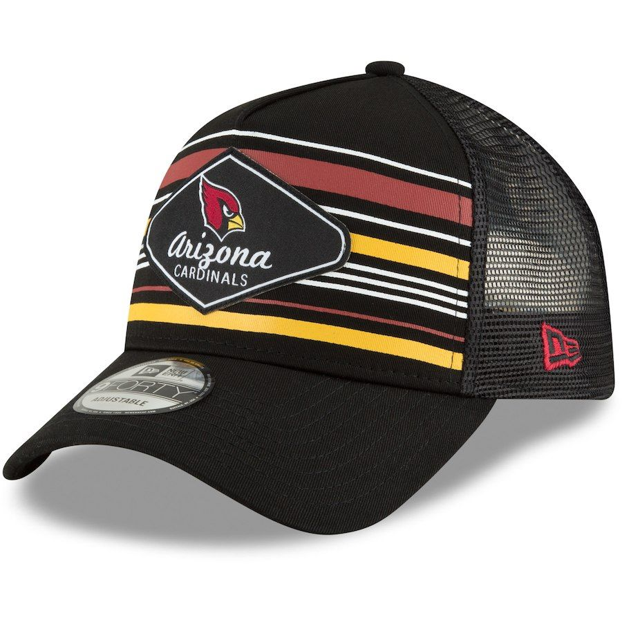 outlet store 2d9fe 344be ... shopping mens arizona cardinals new era black mavericks a frame 9forty  adjustable snapback hat your price