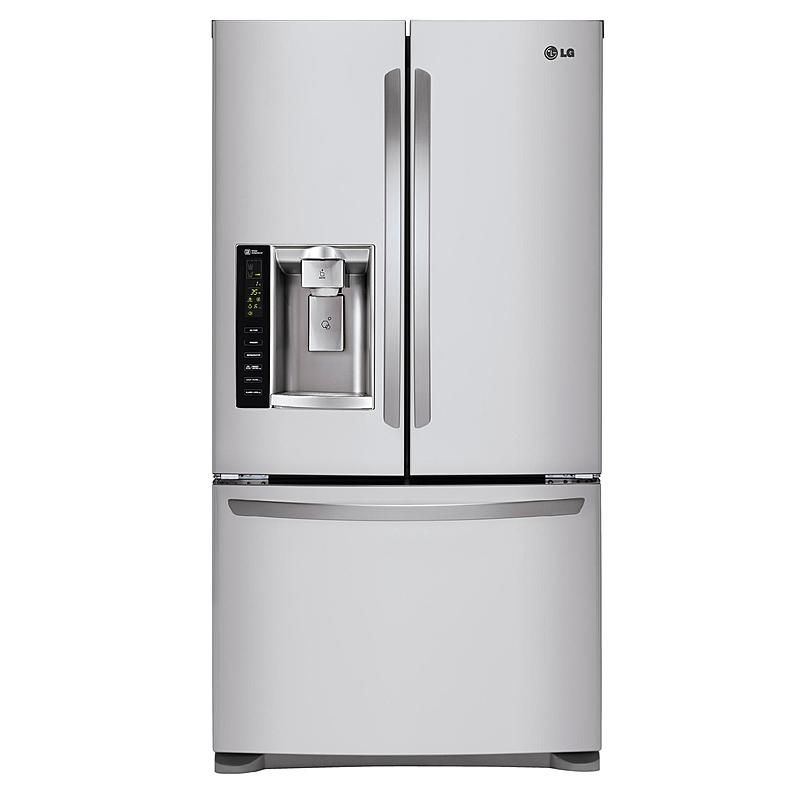 Lg Lfx25974st 24 7 Cu Ft French Door Refrigerator French Door Bottom Freezer Refrigerator Lg French Door Refrigerator French Doors
