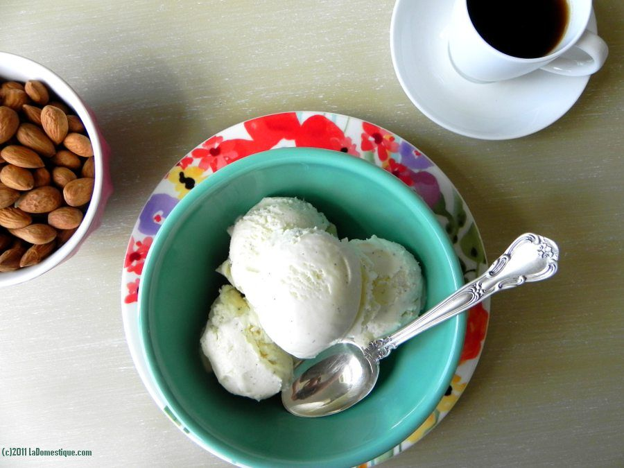 Comparison of three types of vanilla beans used in ice cream.  Vanilla Bean Ice Cream (c)2011 LaDomestique.com