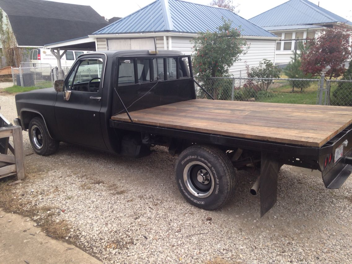 86 Chevy 1 2 Ton Truck Bed Pickup Trucks Flat Bed